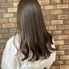 大人ロング ダークトーン イルミナカラー N.オイル ヘアスタイルや髪型の写真・画像