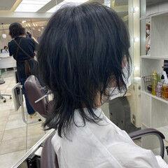 マッシュウルフ ウルフ ウルフカット ネオウルフ ヘアスタイルや髪型の写真・画像