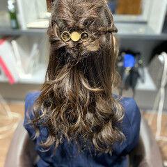 エレガント ゆるふわセット 中津市ヘアセット ロング ヘアスタイルや髪型の写真・画像