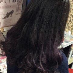 フェミニン ホワイトグラデーション ナチュラルグラデーション グラデーション ヘアスタイルや髪型の写真・画像