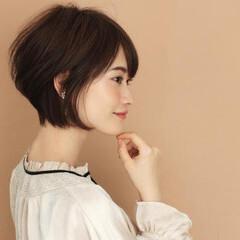 辺見えみり 本田翼 ショート ナチュラル ヘアスタイルや髪型の写真・画像