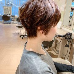 ショートカット ナチュラル ショートヘア ショート ヘアスタイルや髪型の写真・画像