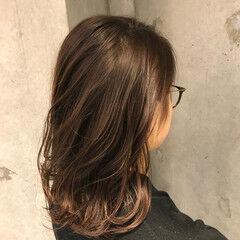 カール ミディアム 大人女子 秋 ヘアスタイルや髪型の写真・画像