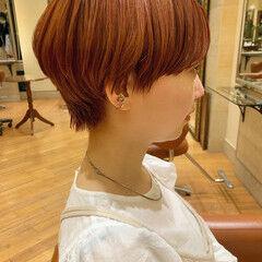 マッシュショート ショートボブ 小顔ショート ショート ヘアスタイルや髪型の写真・画像