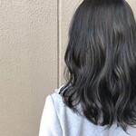 ミディアム ナチュラル アウトドア 艶髪