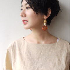 ナチュラル 小顔 色気 夏 ヘアスタイルや髪型の写真・画像