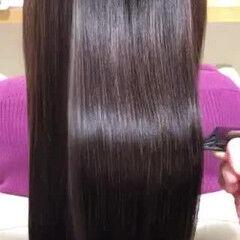 ナチュラル 髪質改善トリートメント 最新トリートメント ロング ヘアスタイルや髪型の写真・画像