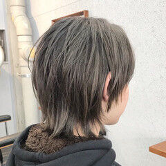 モード ウルフ ショート ウルフカット ヘアスタイルや髪型の写真・画像