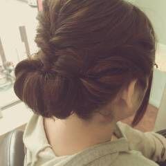 愛され モテ髪 ヘアアレンジ 結婚式 ヘアスタイルや髪型の写真・画像