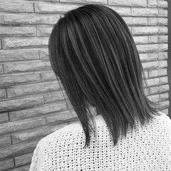 バレイヤージュ 外国人風 外国人風カラー デート ヘアスタイルや髪型の写真・画像