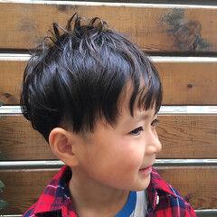 ストリート ショート 子供 ボーイッシュ ヘアスタイルや髪型の写真・画像