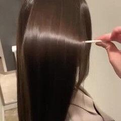 美髪 トリートメント 髪質改善トリートメント ロング ヘアスタイルや髪型の写真・画像