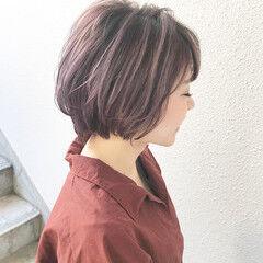 卒業式 外国人風カラー ショート 成人式ヘア ヘアスタイルや髪型の写真・画像