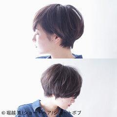 堀越 真/ショートヘア/ショートボブさんが投稿したヘアスタイル