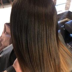 髪質改善 髪の病院 美髪 セミロング ヘアスタイルや髪型の写真・画像