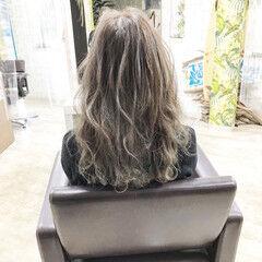 ブリーチ ブリーチカラー エレガント ブリーチオンカラー ヘアスタイルや髪型の写真・画像