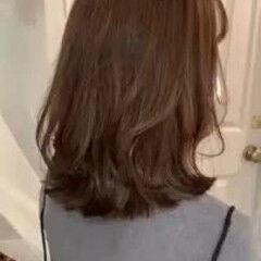 デート ゆるふわ 外ハネボブ ナチュラル ヘアスタイルや髪型の写真・画像