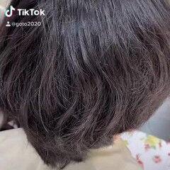 メンズカット ツーブロック 韓国風ヘアー モード ヘアスタイルや髪型の写真・画像