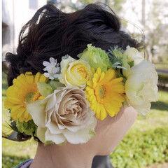 結婚式 卒業式 ナチュラル ヘアアレンジ ヘアスタイルや髪型の写真・画像