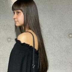ナチュラル ロング ロングヘアスタイル ロングヘア ヘアスタイルや髪型の写真・画像