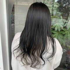 アッシュグレージュ ガーリー インナーカラー インナーカラーグレージュ ヘアスタイルや髪型の写真・画像