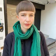 刈り上げ ショートヘア ベリーショート ショート ヘアスタイルや髪型の写真・画像