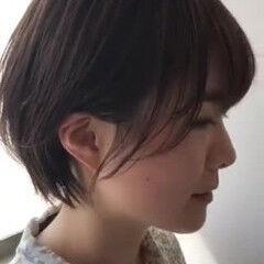 大人女子 ショート 大人かわいい コンサバ ヘアスタイルや髪型の写真・画像