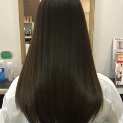 髪の病院 ロング トリートメント 髪質改善 ヘアスタイルや髪型の写真・画像