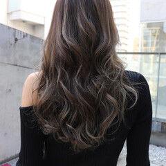 ハイライト エレガント 大人女子 コントラストハイライト ヘアスタイルや髪型の写真・画像