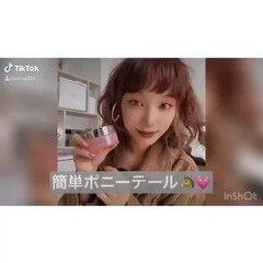 ヘアセット動画 インナーカラー ナチュラル スタイリング動画 ヘアスタイルや髪型の写真・画像