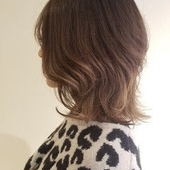 ハイライト セミロング エレガント トキオトリートメント ヘアスタイルや髪型の写真・画像