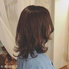 大人かわいい ゆるふわ 女子力 ナチュラル ヘアスタイルや髪型の写真・画像