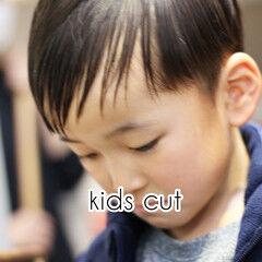 キッズカット マッシュショート キッズ ショート ヘアスタイルや髪型の写真・画像