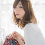 ロング フェミニン モテ髪 ナチュラル