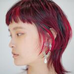 赤髪 レッドカラー ウルフ ウルフ女子