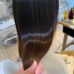 大人ロング ナチュラル 髪質改善 髪質改善トリートメント