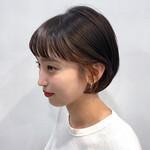 黒髪 ナチュラル インナーカラー 簡単ヘアアレンジ