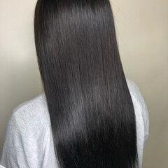 艶髪 うる艶カラー 艶カラー アッシュ ヘアスタイルや髪型の写真・画像