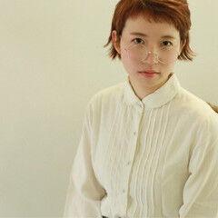 クラシカル ショートバング 秋 ショート ヘアスタイルや髪型の写真・画像