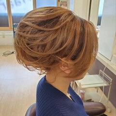ショートヘアアレンジ 結婚式ヘアアレンジ ミディアム ヘアアレンジ ヘアスタイルや髪型の写真・画像