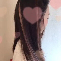 インナーカラー ガーリー ハイトーン 成人式ヘア ヘアスタイルや髪型の写真・画像