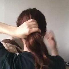 セミロング ナチュラル 大人女子 ヘアセット ヘアスタイルや髪型の写真・画像