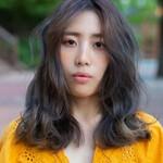 モード 韓国ヘア パーマ セミロング