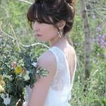外国人風 セミロング 成人式 結婚式