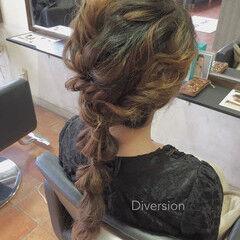 ヘアアレンジ ラフ ロング プリンセス ヘアスタイルや髪型の写真・画像