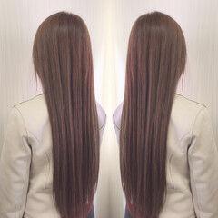 ナチュラル 前髪エクステ 外国人風 外国人風カラー ヘアスタイルや髪型の写真・画像