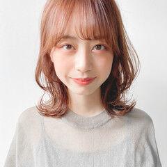 簡単ヘアアレンジ アンニュイほつれヘア 似合わせカット ミディアム ヘアスタイルや髪型の写真・画像
