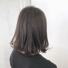 エフォートレス 大人かわいい ミディアム ゆるふわ ヘアスタイルや髪型の写真・画像