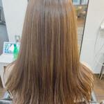 大人ミディアム 美髪 髪質改善トリートメント ナチュラル