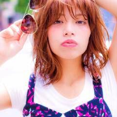 モテ髪 ボブ ストリート マルサラ ヘアスタイルや髪型の写真・画像